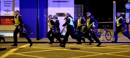 In pictures: Fear and panic on London's streets as terror strikes again