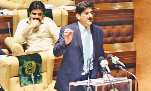 Sindh govt announces budget for fiscal 2017-18 with Rs1.04 trillion outlay