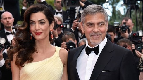 Amal and George Clooney welcome twins, Ella and Alexander