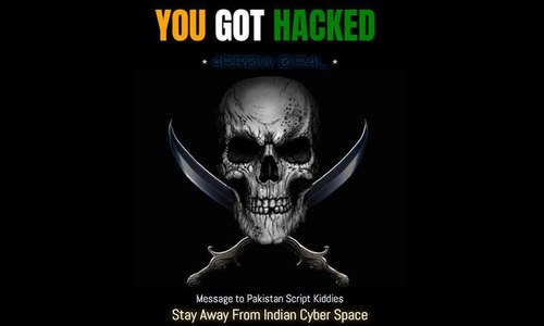 Bilawal House media cell website defaced by Indians hackers