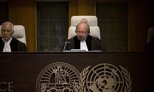 Pakistani, Indian counsels meet with ICJ president, discuss timelines