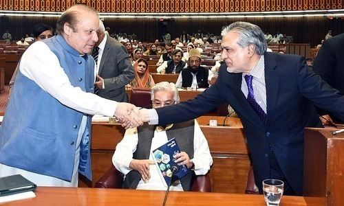 National Assembly passes Rs4.75tr budget without the opposition