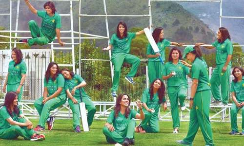 CRICKET: MAKE WAY FOR THE WOMEN