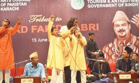 A qawwali institute named after Amjad Sabri is opening soon