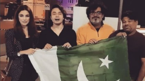 Ali Zafar, Maya Ali and more send good wishes to the Pakistani cricket team