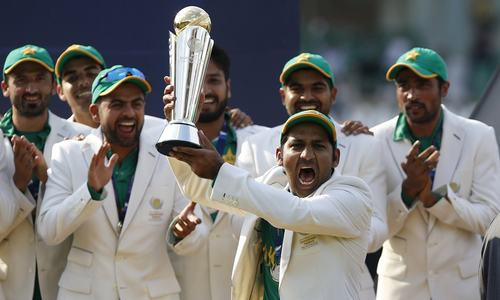 Sarfaraz hopeful Champions Trophy victory will rejuvenate international cricket in Pakistan