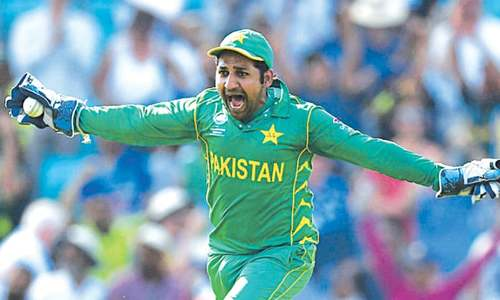I couldn't have asked more from  my team: Sarfraz