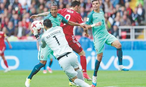 Ronaldo gets Portugal's Confederations Cup campaign back on track