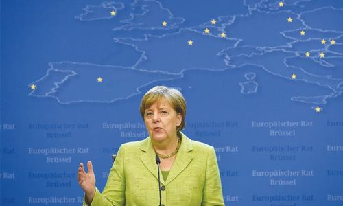 EU's future has priority over Brexit: Merkel