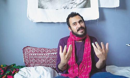 Bhutto Jr steps into art world, raises hopes