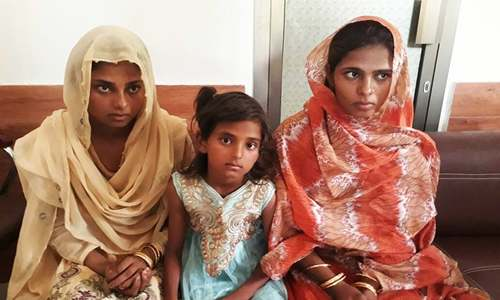 Three sisters abducted from Mirpur Khas recovered by police