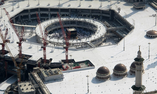 Suicide bomber killed in foiled Makkah plot to attack Grand Mosque: Saudi state media