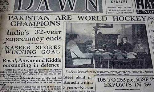 Pakistan hockey's barren fields