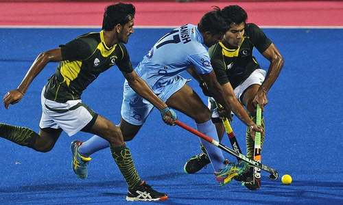 Pakistan lose 6-1 to India in Hockey World League play-off