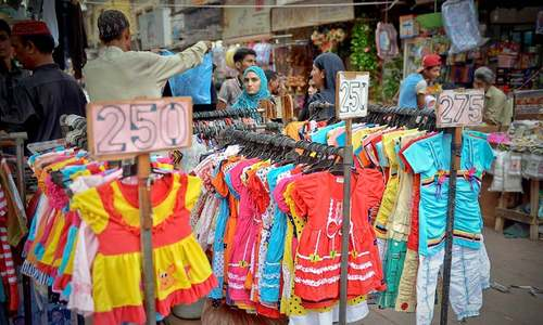 Eid shopping frenzy continues amid security concerns