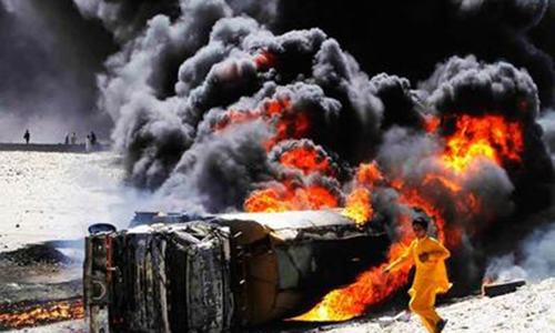 At least 100 killed in oil tanker fire in Bahawalpur