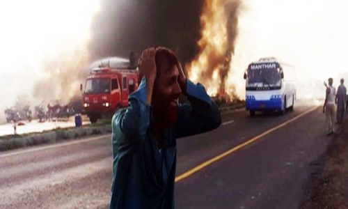 127 killed in oil tanker fire in Bahawalpur