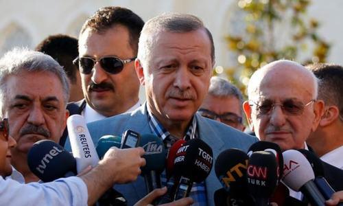 Turkey's Erdogan says Arab demands on Qatar unlawful