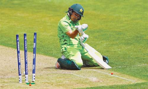 Pakistan go down fighting in Women's World Cup
