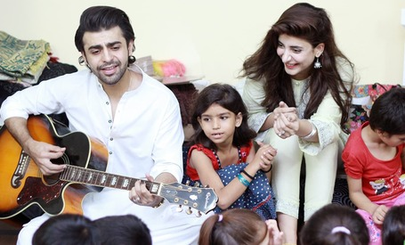 Urwa Hocane and Farhan Saeed's Eid celebration will melt your heart