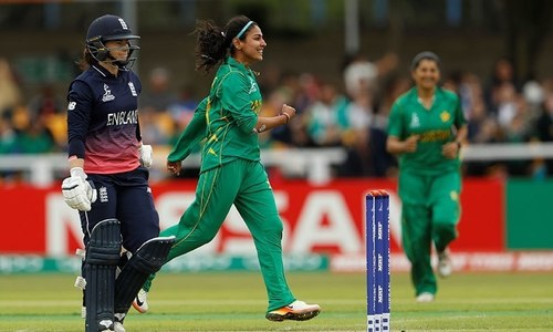 Pakistan struggle in rain-hit clash against England in ICC Women's World Cup