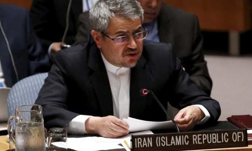 Iran accuses US of 'brazen' plan to change its government