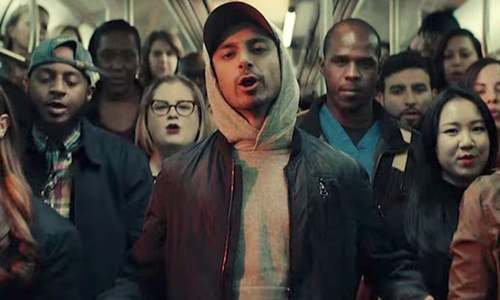 Riz Ahmed teamed up with Lin-Manuel Miranda for a music video about immigrants and it's magical