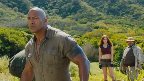 The Jumanji sequel's trailer is out and we take back everything we said about the film earlier