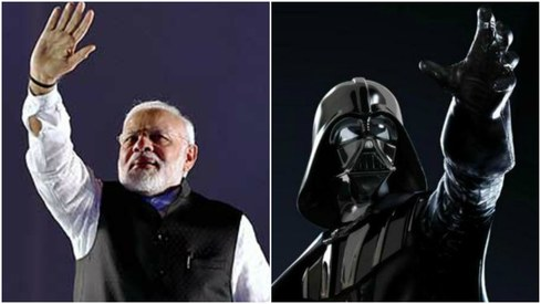 PM Modi ends speech with iconic Darth Vader theme and Twitter is super confused