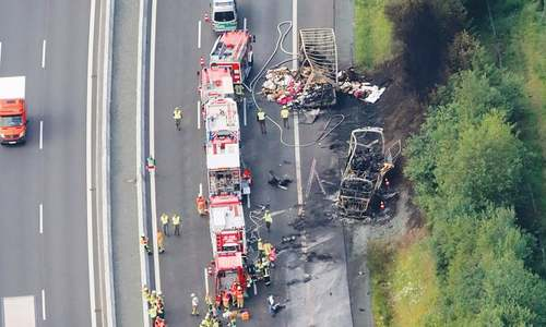 18 killed in Germany bus accident