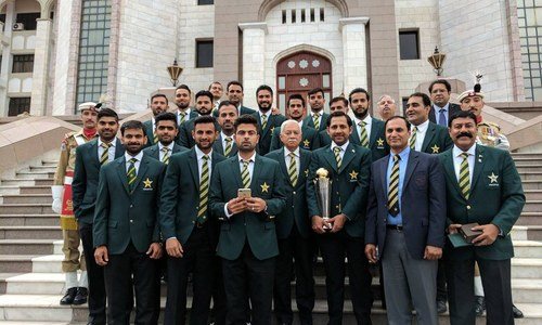 Sarfraz appointed Test captain at honorary reception for Pakistan team