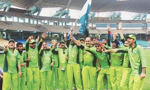 PM grants Rs20m for Pakistan to host Blind Cricket World Cup 2018