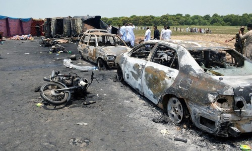 Rs500 maximum penalty govt can impose for negligence in Bahawalpur oil tanker incident