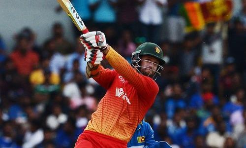 Zimbabwe beats Sri Lanka by four wickets in rain-hit match