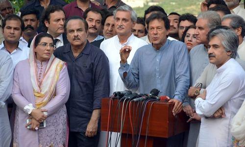 Imran asks PM Nawaz, CM Punjab to resign following JIT report