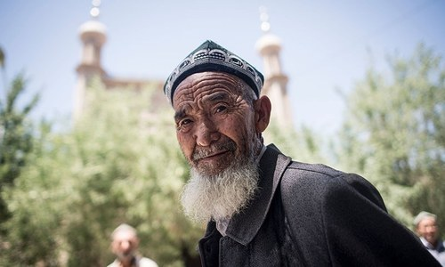 China's Uighur Muslims struggle under 'police state'