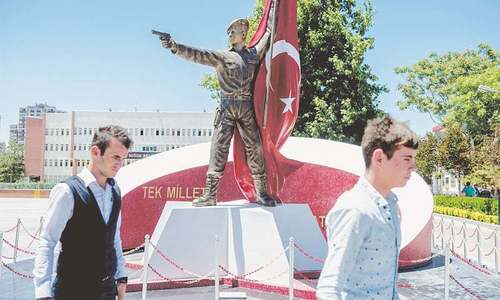 Turkey marks one year since coup attempt