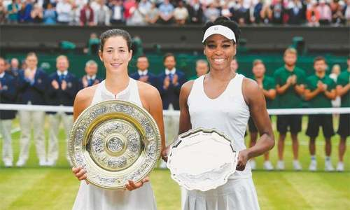 Muguruza demolishes Venus to clinch maiden Wimbledon title