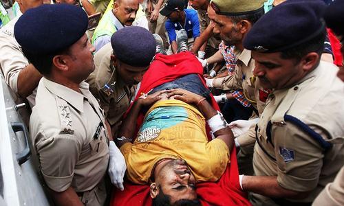 16 Hindu pilgrims killed in bus crash in India-held Kashmir
