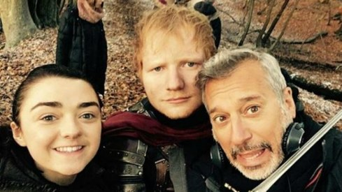 Ed Sheeran's cameo in Game of Thrones causes uproar on Twitter