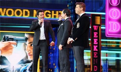 Varun Dhawan, Saif Ali Khan and Karan Johar defend nepotism, take a dig at Kangana at IIFA 2017