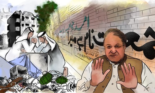 Satire: Nawaz Sharif nominated for Nobel Peace Prize