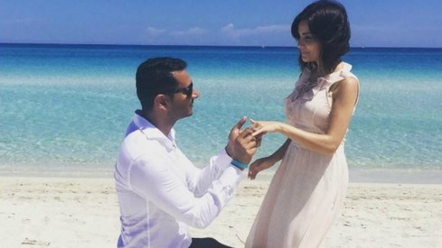 Armeena Khan announces her engagement on Instagram