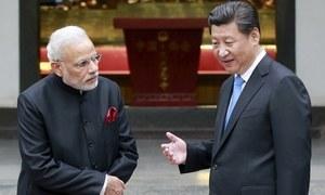 'بھارتی فوج کے سامنے چین کے صبر کا پیمانہ لبریز'