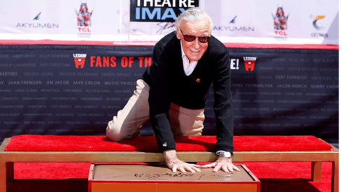 Marvel Comics legend Stan Lee honoured by Hollywood