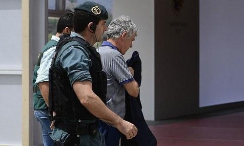 کرپشن الزامات: ہسپانوی فٹبال تنظیم کے سربراہ سمیت 4 افراد گرفتار