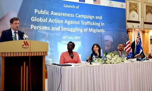 $12.7m project launched to combat human trafficking, migrant smuggling