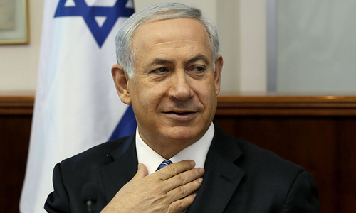 Israeli prime minister accidentally admits Syria strikes