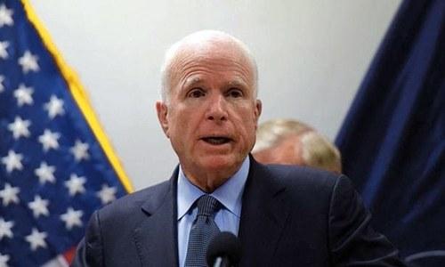 US Senate icon John McCain diagnosed with brain cancer