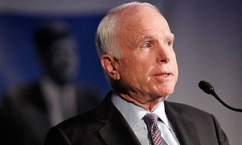 US Senate icon John McCain diagnosed with brain cancer